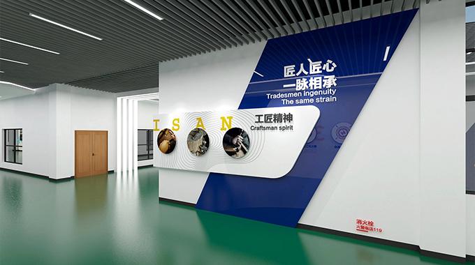 生产车间文化墙设计—苏州文化墙设计公司