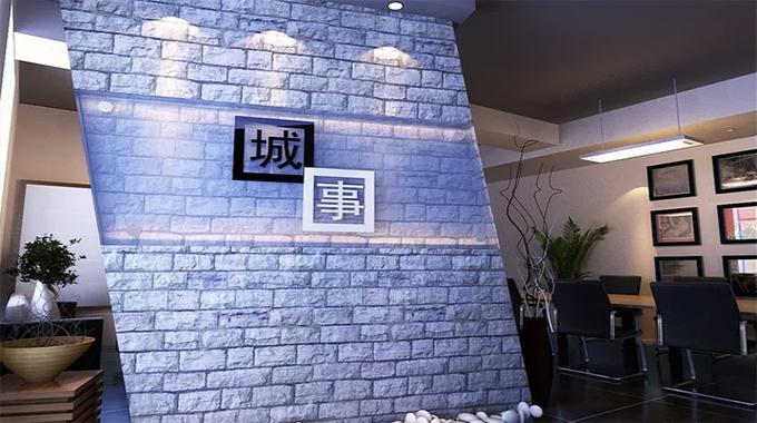 企业背景墙形象墙制作注意事项
