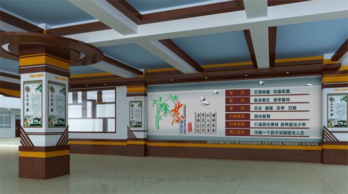 校园文化墙设计—文化长廊设计介绍