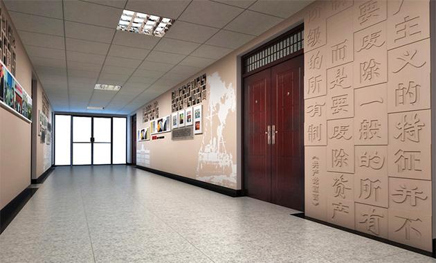 机关事业单位文化建设—文化墙建设的重要性