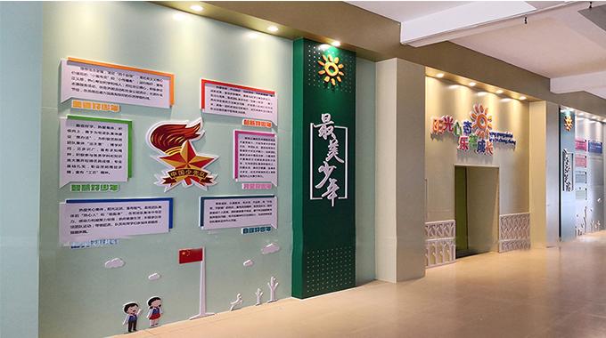无锡校园文化建设—校园文化墙在当下的重要性