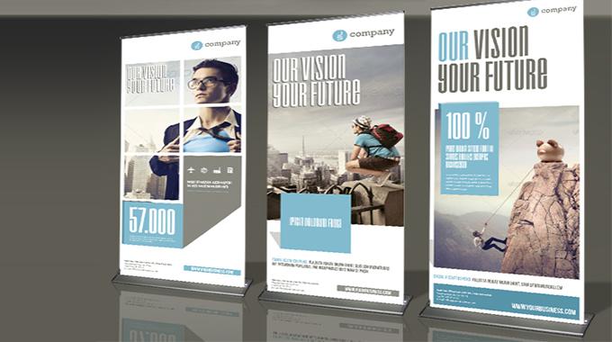 宣传海报设计公司—易拉宝宣传海报设计制作