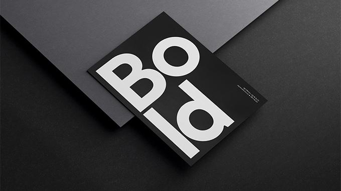 宣传海报设计公司—黑白简约海报设计