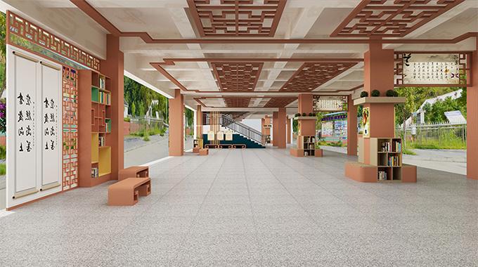 校园文化设计—创新型校园文化走廊设计
