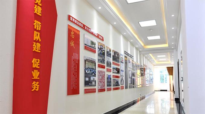 苏州党建-企业党建文化墙为什么亮闪党建风采