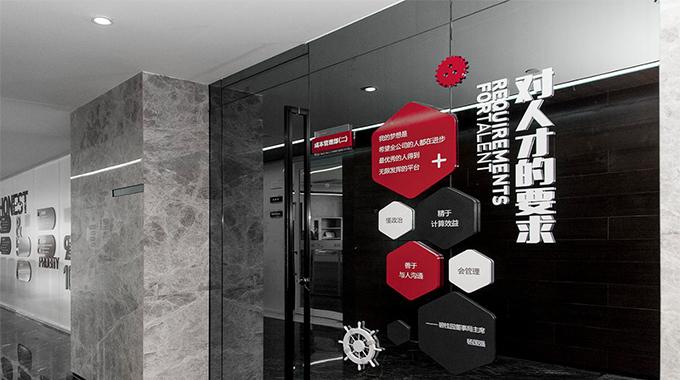 上海企业文化墙设计—公司文化墙设计与规划