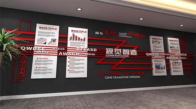 上海文化墙设计公司—设计制作安装一体化服务
