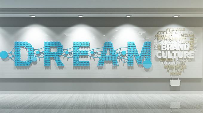 上海广告公司—企业形象墙设计制作上如何做好