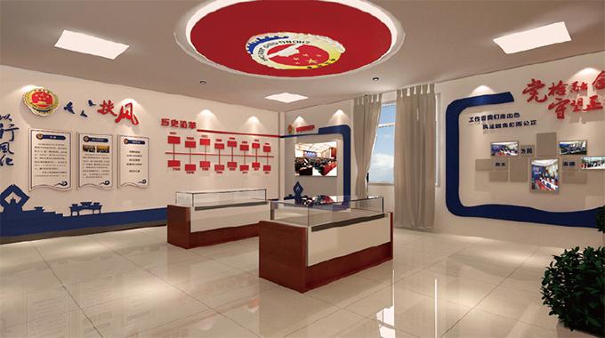 """上海广告公司—党建文化墙""""内容与形式合一"""""""